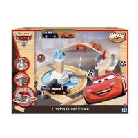 TRU Disney Pixar Cars London Grande Finale Set - Cars Wood Collection