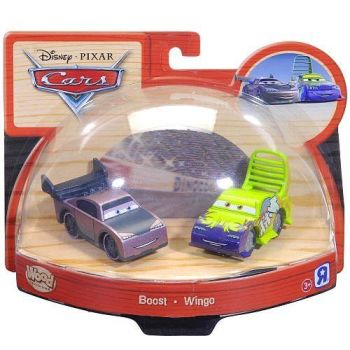 TRU Disney Pixar Cars - Boost and Wingo Double Pack - Cars Wood Collection