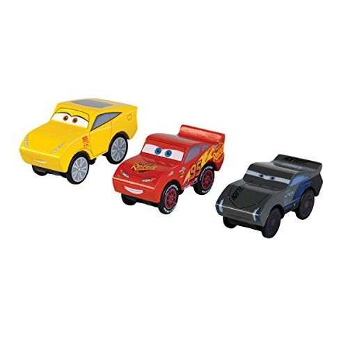 Disney Cars Piston Cup 3 Pack Wooden Cars Kidkraft