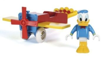 Donald Duck and Aeroplane - Brio