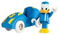 Donald Duck and Racing Car - Brio