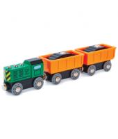 Diesel Freight Train - Hape Wooden Railway
