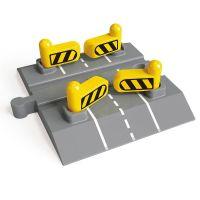 Automatic Gates Rail Crossing  - Hape Wooden Railway