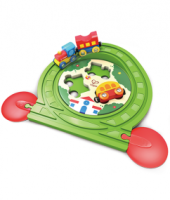 Train Track Puzzle  - Hape Wooden Railway