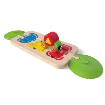 Colour and Shape Sorting Track  - Hape Wooden Railway