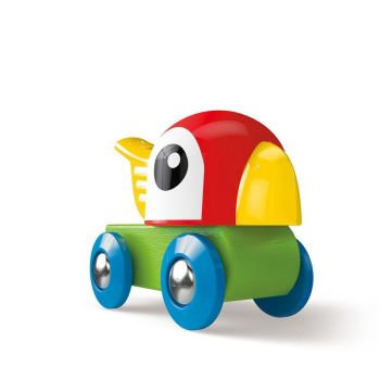 Whistling Parrot Engine - Hape Wooden Railway