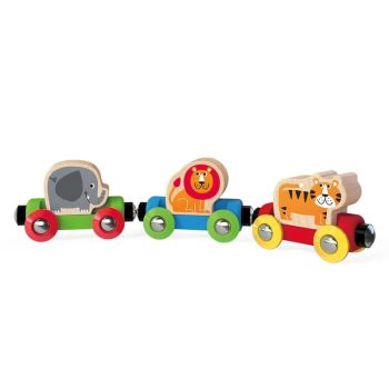 Jungle Journey Train - Hape Wooden Railway