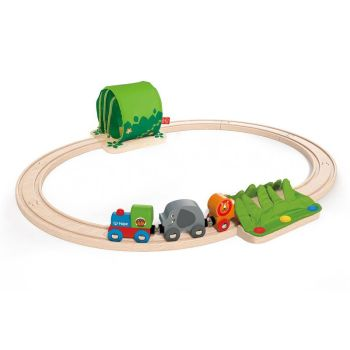 Jungle Train Journey Set  - Hape Wooden Railway