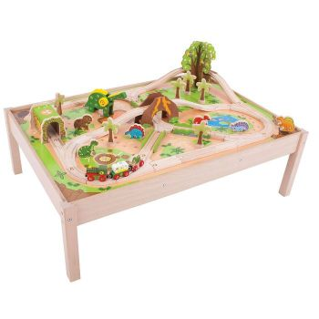 Dinosaur Train Set and Table - Bigjigs