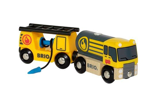 Airport Tanker Truck with Hose Wagon - Brio