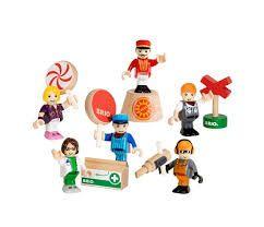 6 Play Figures - Brio