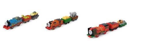 Trackmaster Big World 3 Pack - Thomas and Ace , Nia , Yong Bao - Preorder d