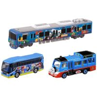 Thomas Buses and Trains Triple Pack - Tomica Diecast