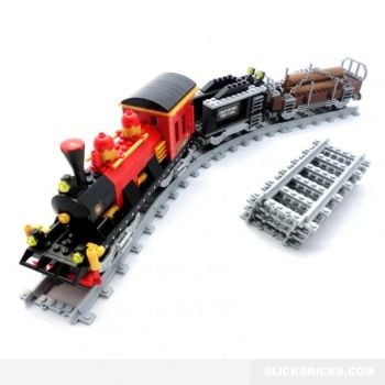 Steam Lumber Train - Ausini