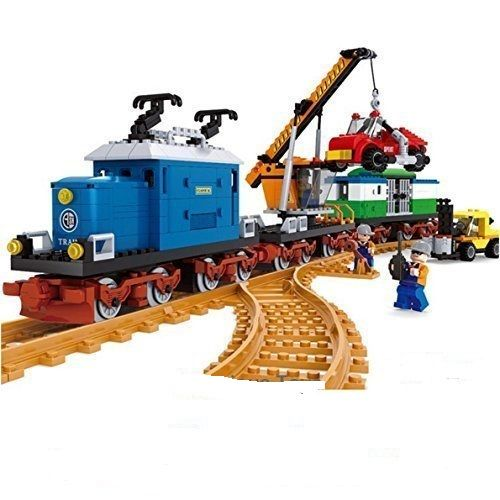 Freight Engine with Crane Wagon - Ausini