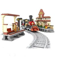 Steam Loco and Station - Ausini
