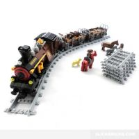 Wild West Steam Train and Livestock - Ausini