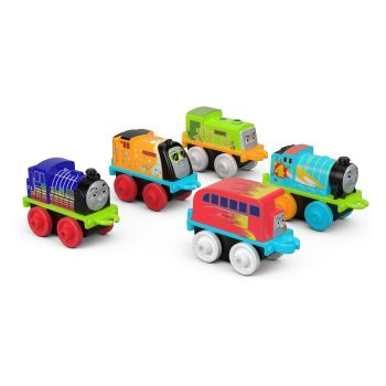 2018 5Pk Neon Glow in the Dark Minis Cool (FJV71) - Thomas Minis