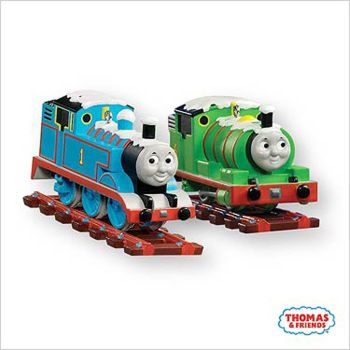 Thomas and Percy Hallmark 2007  Tree Decorations - Christmas