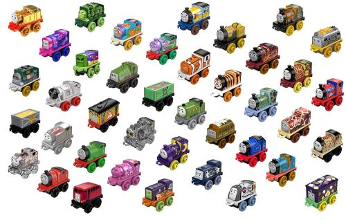 40Pk inc Gold,Platinum and Clear Thomas Minis - Thomas Minis