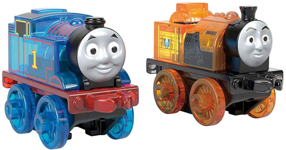 Thomas and Stephen Light Up Minis - Thomas Minis