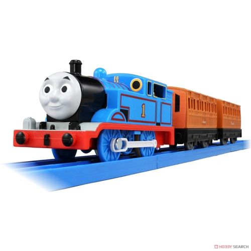 Thomas with Annie and Clarabel - Thomas Plarail 2018 Version