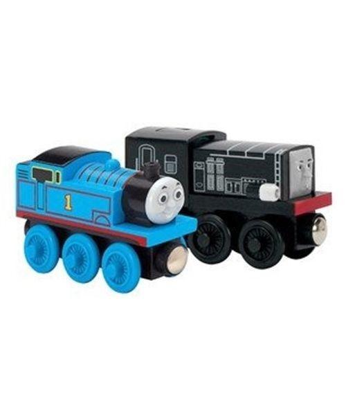 Talking Diesel and Standard Thomas - Thomas Wooden