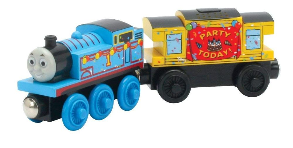 Birthday Thomas with Musical Caboose - Thomas Wooden