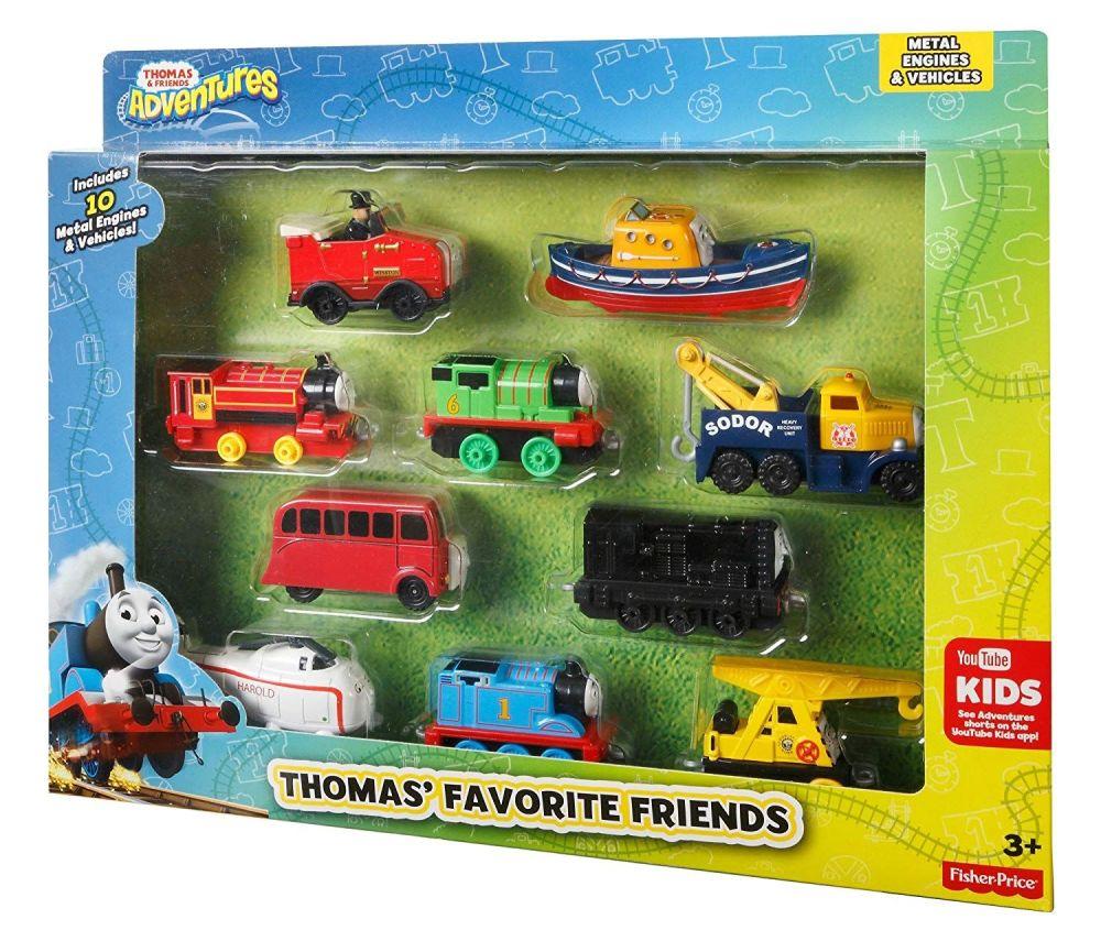 Thomas' Favourite Friends 10 Pack - Adventures