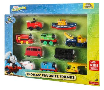 Thomas' Favourite Friends 10 Pack - Adventures