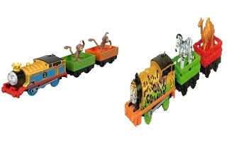 Monkey Mania Thomas and Animal Party Percy - Trackmaster Revolution