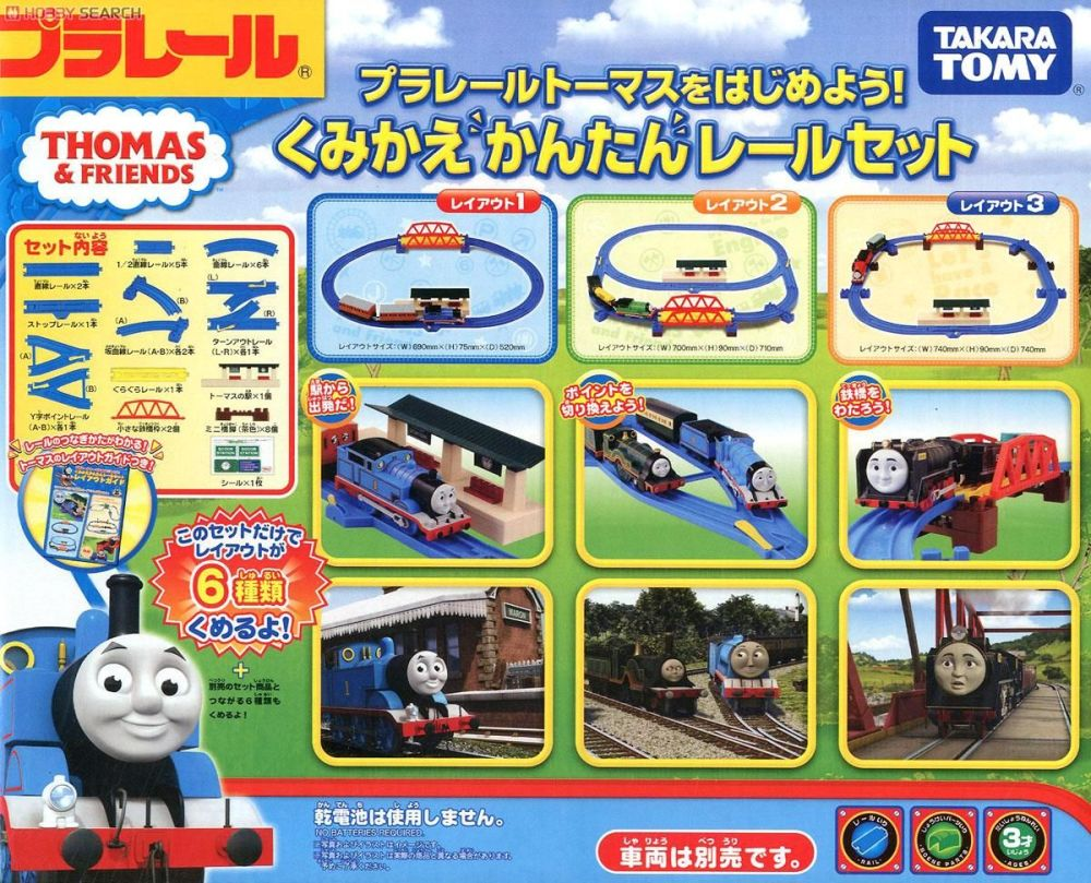 Thomas Starter Set - Plarail