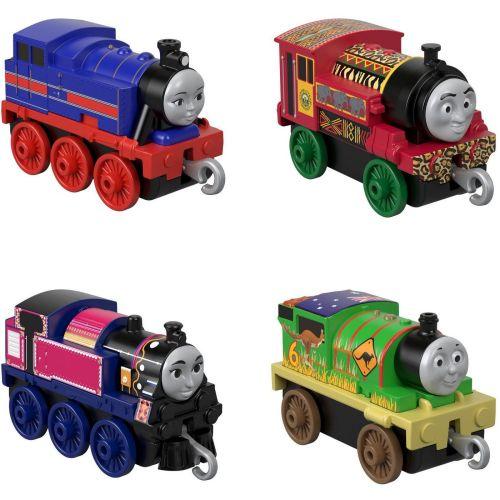 Thomas & Friends Around the World 4 Pk - Trackmaster Push Along