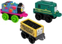 2018/19 3 Pack #5 - Neon Splatter Edward,Classic TT and Classic Shane  - Thomas Mini