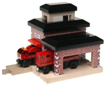 Sodor Fire Station - Thomas Wooden