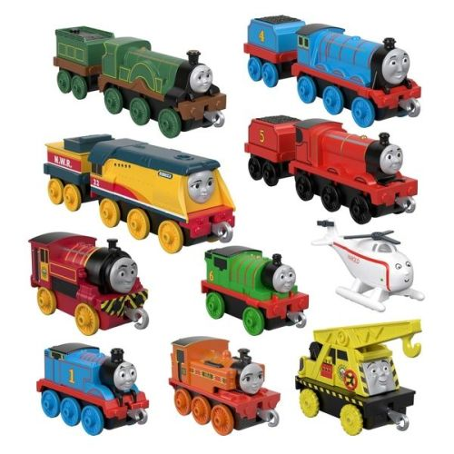 Sodor Steamies 10 pack - Thomas and Friends TrackMaster Push Along
