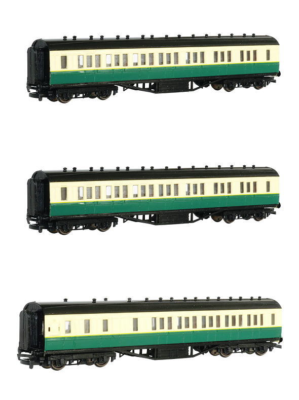Gordon's Coaches Value Pack - 2 x Composite and 1 x Brake - Bachmann Thomas