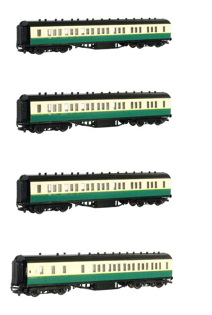 Gordon's Coaches Value Pack #2 - 3 x Composite and 1 x Brake - Bachmann Tho
