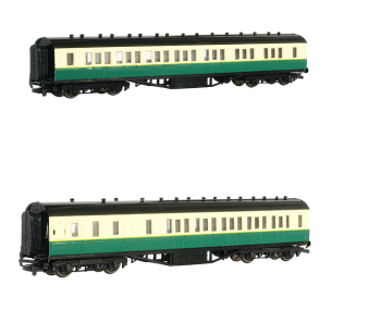 Gordon's Coaches Value Pack #3 - 1 x Composite and 1 x Brake - Bachmann Thomas