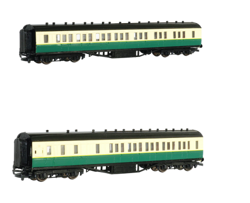 Gordon's Coaches Value Pack #3 - 1 x Composite and 1 x Brake - Bachmann Tho