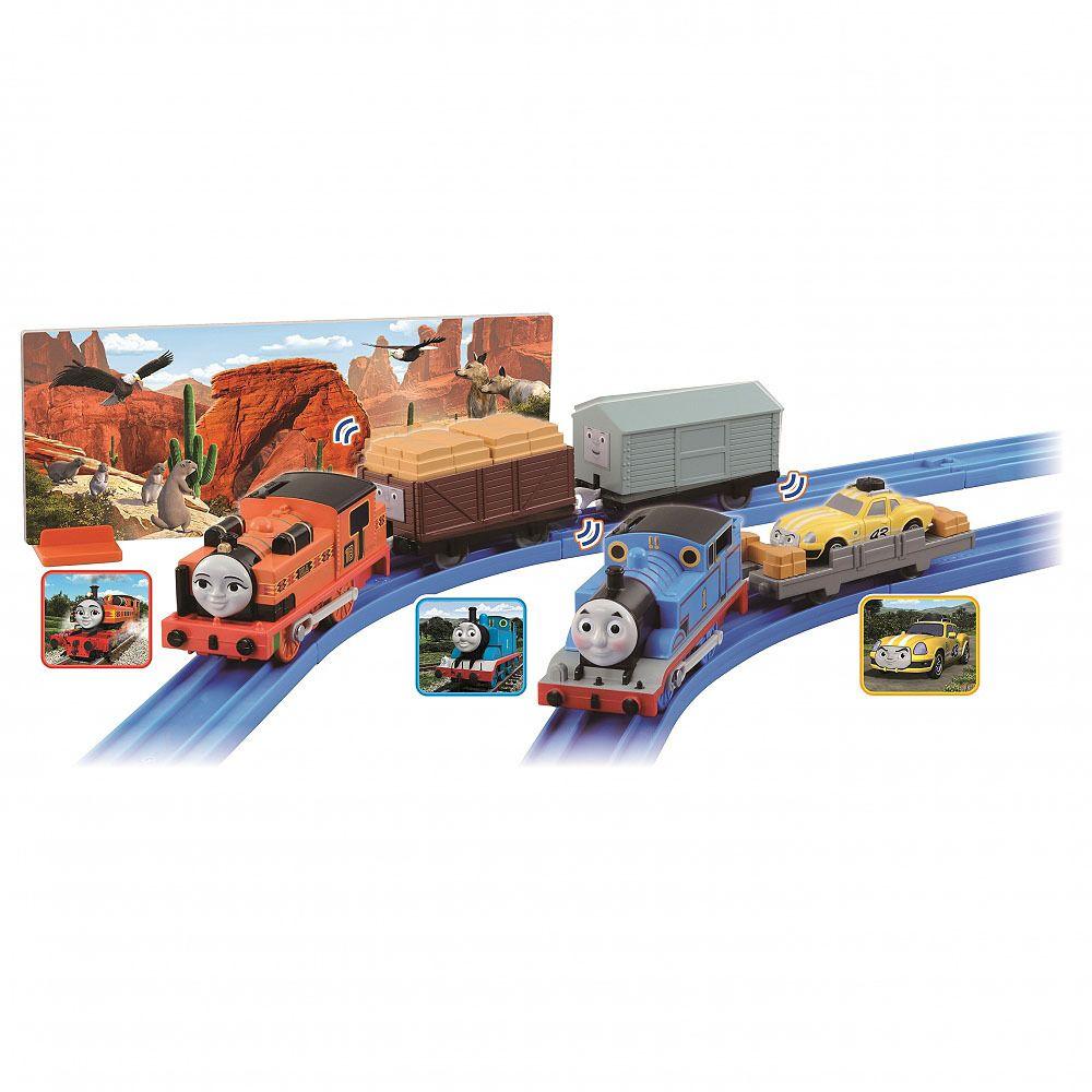 Thomas and Nia - Go Go Adventure Set !! - Plarail