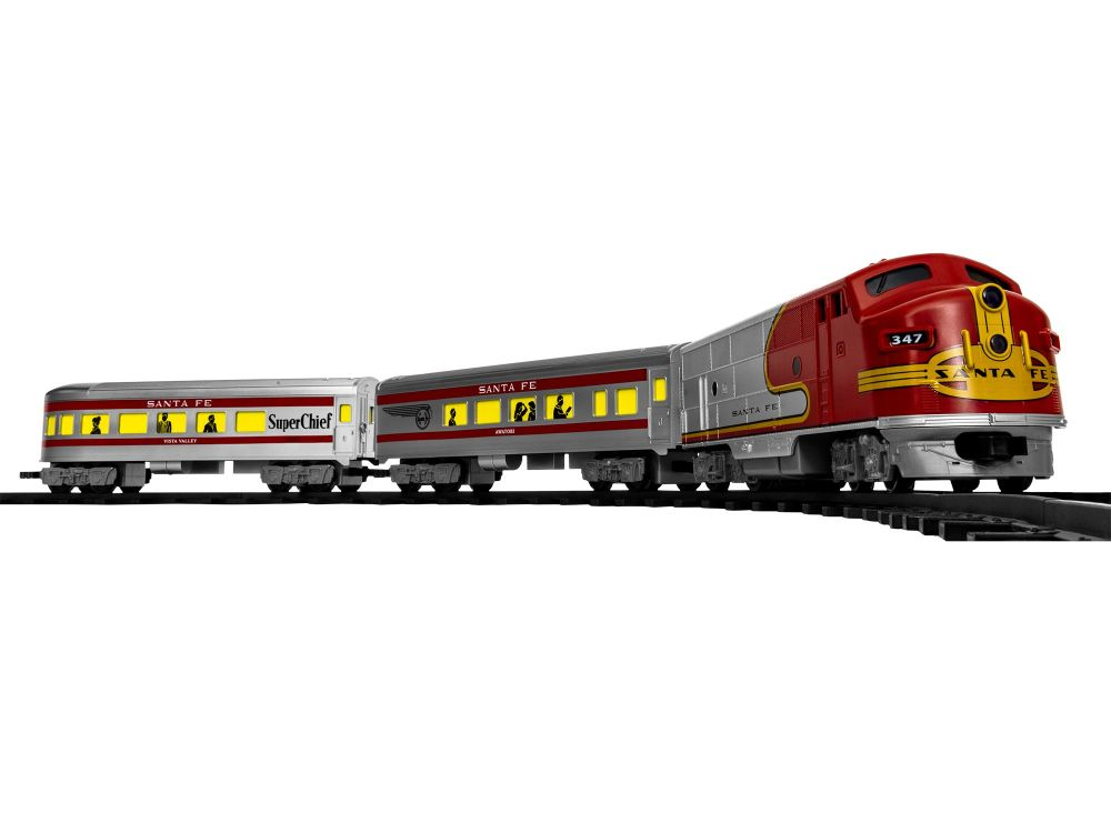 Santa Fe Diesel Passenger - Ready To Play Battery Powered Set  - Lionel