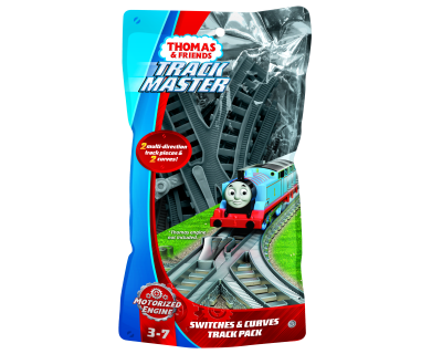 Switches and Curves Track Pack - New Style - Trackmaster