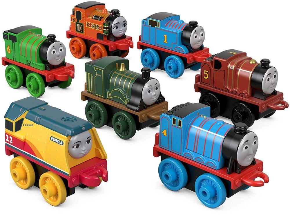 Steamies Rule 7 Pk - Includes Rebecca - Thomas Minis