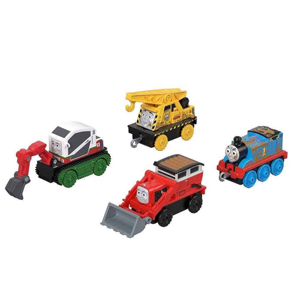 Thomas & Friends Hard at Work  4 Pk - Trackmaster Push Along
