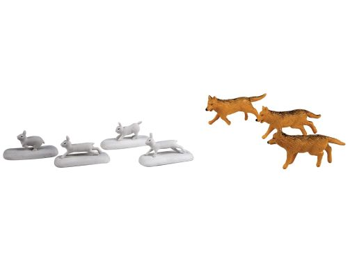 Polar Express™ Wolves and Rabbit Animal Pack - Lionel