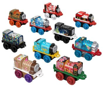 Happy Holidays 10Pk - Thomas Minis