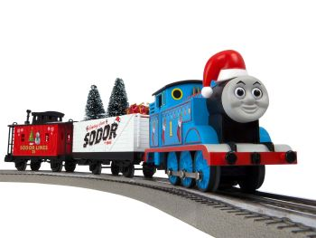 Thomas & Friends Christmas Freight LionChief Set with Bluetooth - Lionel