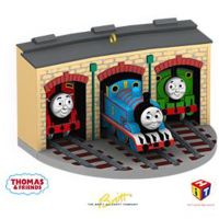 Thomas & Friends Tree Ornament  - Thomas, Percy and James at Tidmouth  - Hallmark 2009