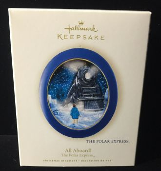 Polar Express Tree Ornament - All Aboard 2008 - Hallmark